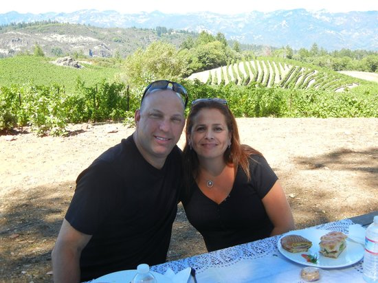 Knight Wine Tours: Pride winery (Picnic lunch)