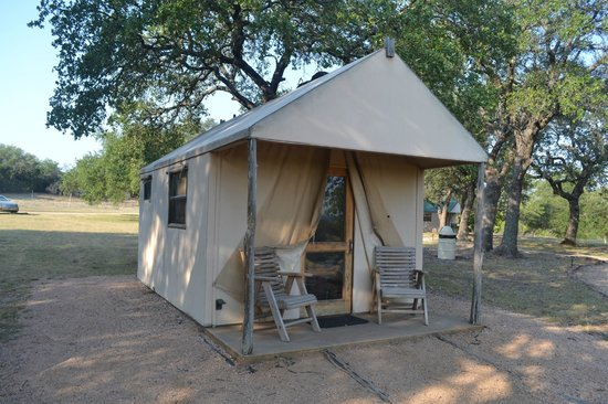 The Lodge at Fossil Rim: Our Tent