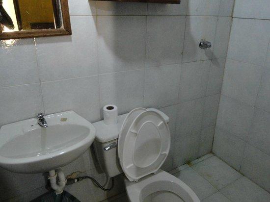 Campamento Morichal Canaima: El baño
