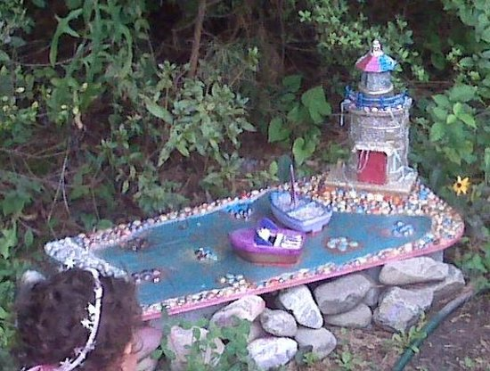 Annmarie Garden: Lighthouse Fairyhouse