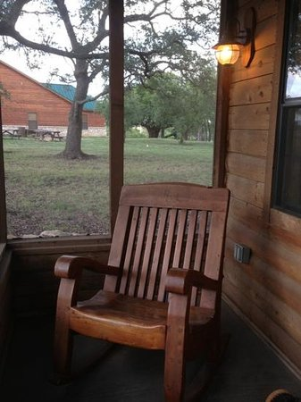 Rough Creek Lodge: Coyote porch
