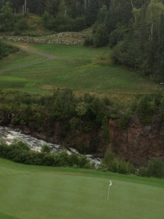 Superior National Golf Course: #6 - par three (Cannon) - pretty easy & very beautiful
