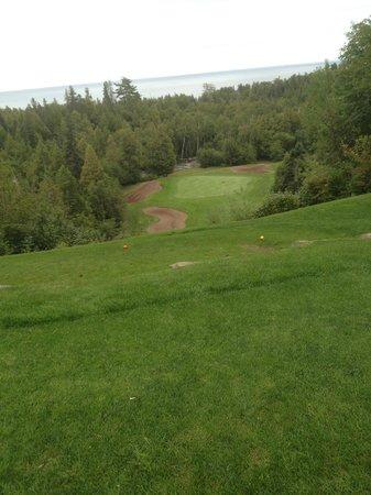 Superior National Golf Course: #8 - (Cannon 9) Another deep drop par 3