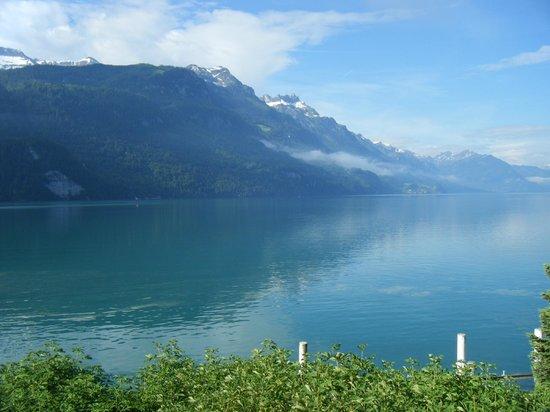 Seehotel Baren Brienz: Splendid view to Lake Brienz