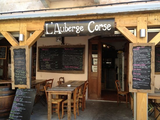 L 39 auberge corse bonifacio restaurant avis num ro de for Restaurant bonifacio port