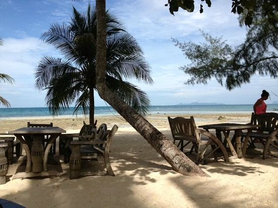 Am Samui Resort: Breakfast view