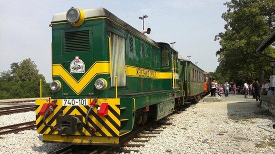Sargan Eight Railway: il convoglio completo