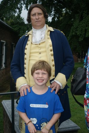 St. John's Episcopal Church: Meeting Colonel Washington.