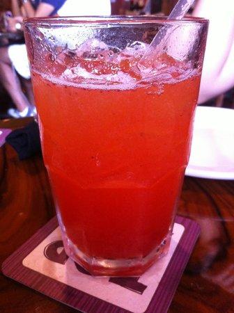 Outback Steakhouse: Delicious strawberry lemonade