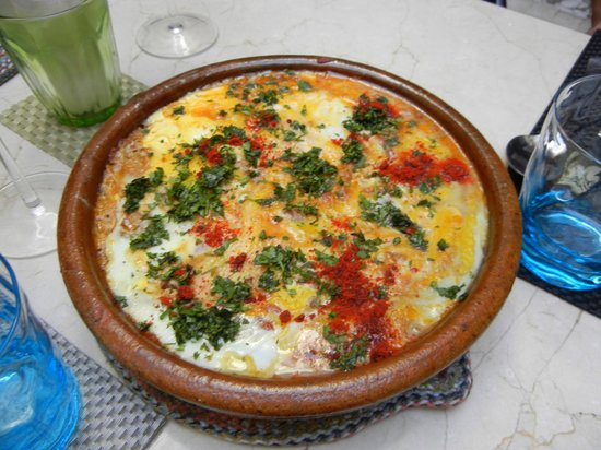 House of Fusion Marrakech: Berber Omelet
