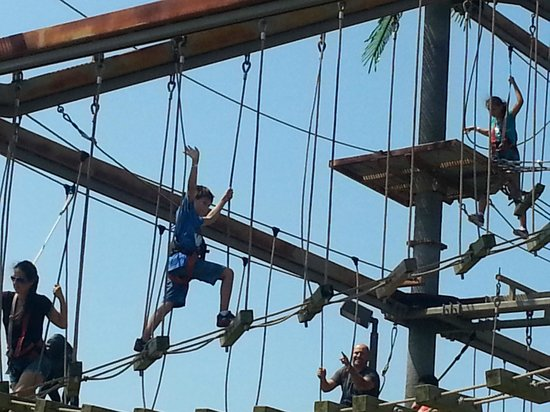 Bayville, Nova York: The Jungle Treetop Adventure!