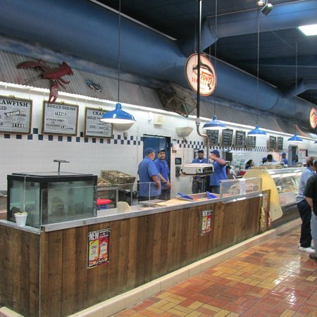 Tony's Seafood: Boiled seafood