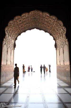 Badshahi Mosque: Enter the dome