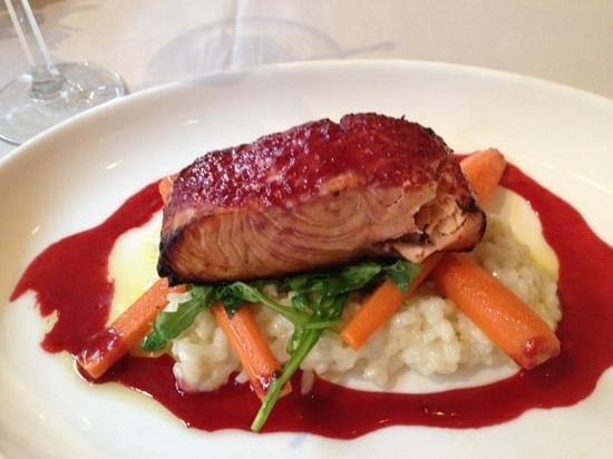 Juniper: salmon & risotto