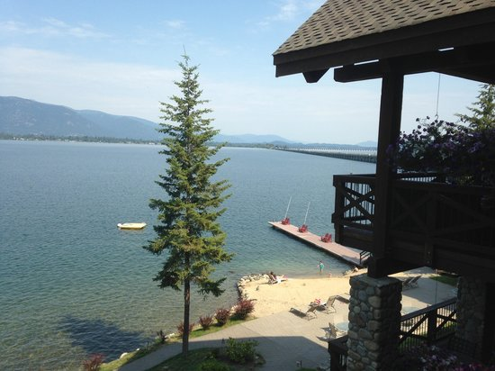 The Lodge at Sandpoint: The view