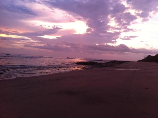 Hotel Playa Negra: Beach Sunset Playa Negra
