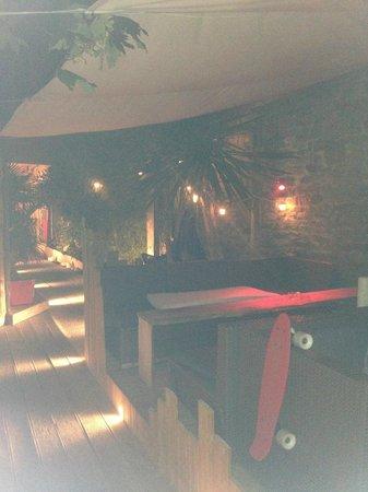 Un Petit Goût de: l'entrée du bar