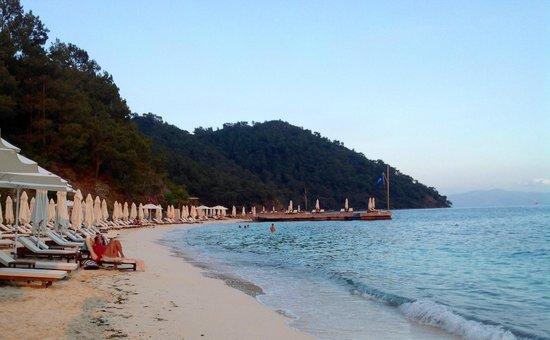 D- Resort Gocek: D Resort private beach with Egyptian sand