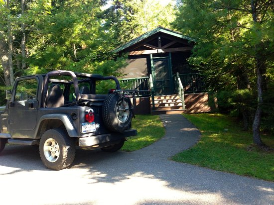 Point Lookout Resort: our cabin
