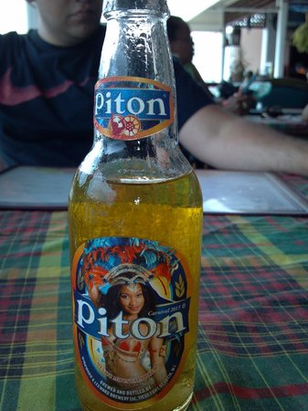Lookout Bar & Restaurant: a piton