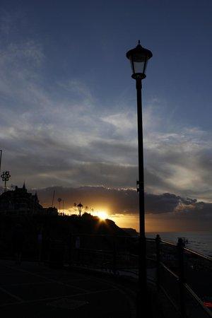 Sunset from Cromer Pier
