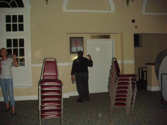 The OFFICIAL Ybor City Ghost Tour : Orbs appeared just after the elevator door opened/closed.