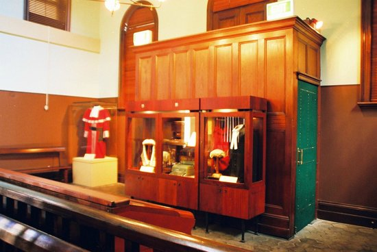 Justice & Police Museum: Robes
