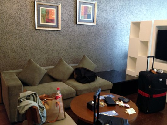 Qingdao Farglory Residence: Lounge area