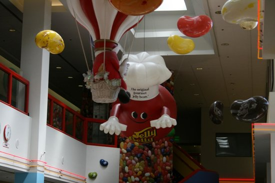 Jelly Belly Factory Tour: Inside the factory..
