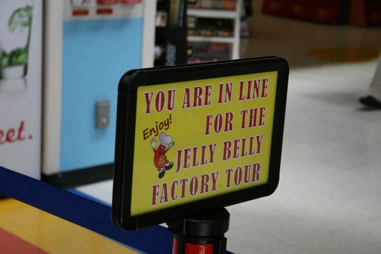 Jelly Belly Factory Tour: Time for the tour!