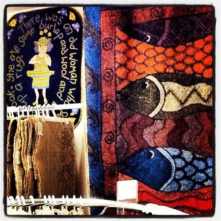 Spruce Top Rug Hooking Studio: There was an Old Women who loved Wool!