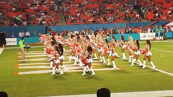 Sun Life Stadium: Miami Dolphins cheerleaders