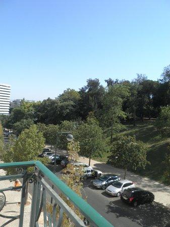 Hotel Miraparque: Window view