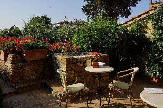 Hotel Palazzo del Capitano Exclusive Wellness & Relais : Jardim do Hotel