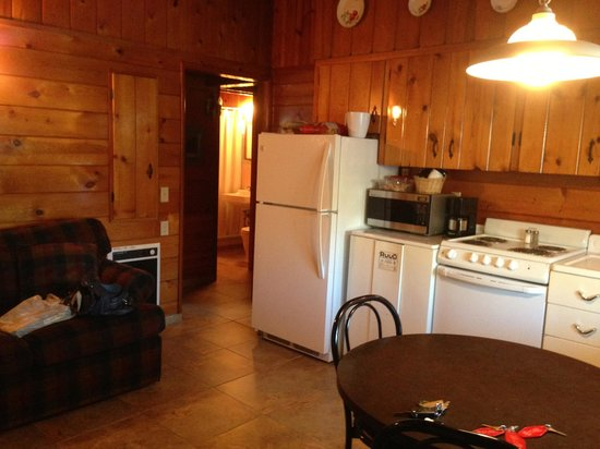 Apple Inn Motel: Kitchenette