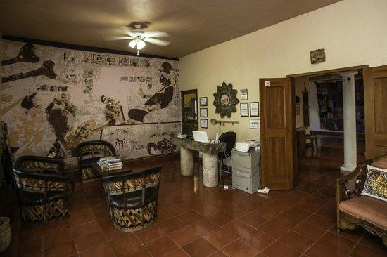 Casa Hamaca Guesthouse: reception