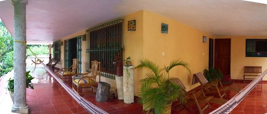 Casa Hamaca Guesthouse: the Veranda