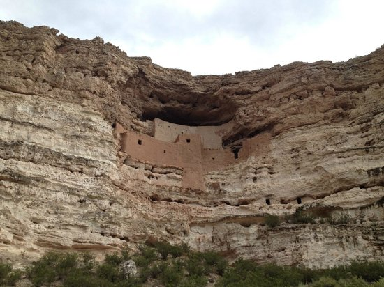 Montezuma Castle National Monument: The castle from another angle