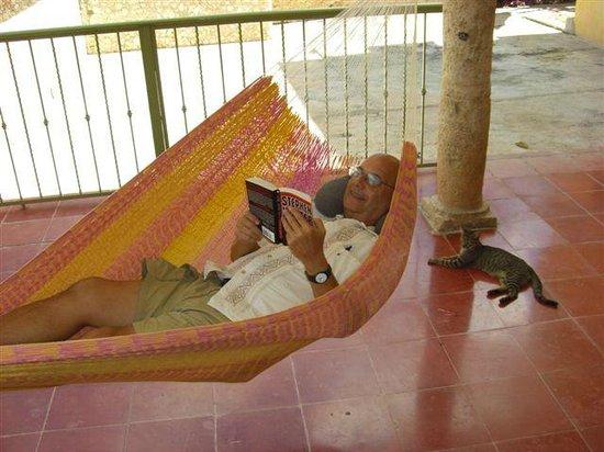 Casa Hamaca Guesthouse: relaxing in a hammock