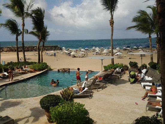 Condado Beach From Concha Hotel