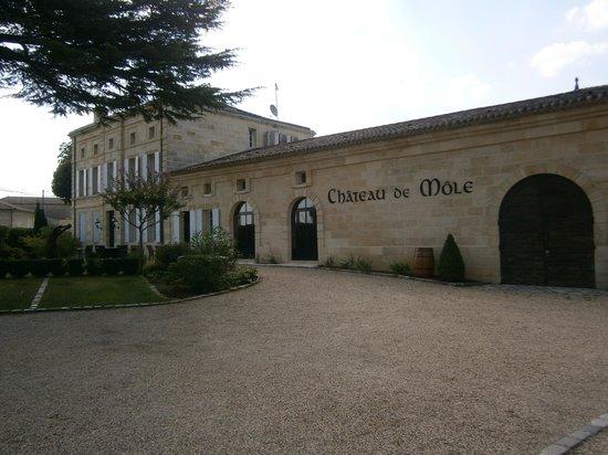 Chateau de Mole : extérieur