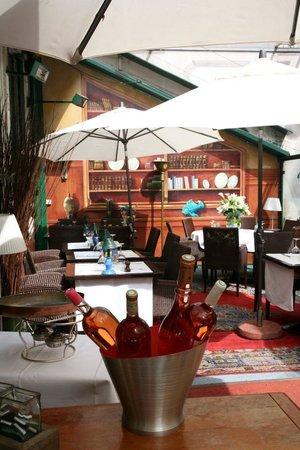 Le Caro de Lyon: Superbe terrasse