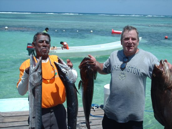 Tranquility Bay Resort: half day fishing with Panni