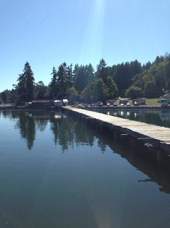 Lakebay, WA: Dock