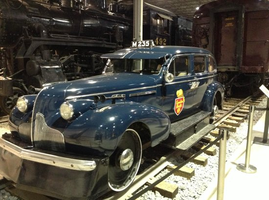 Exporail, the Canadian Railway Museum : Sir Topham Hatt?