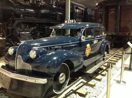 Exporail, the Canadian Railway Museum: Sir Topham Hatt?