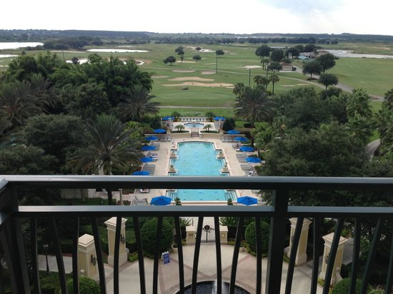 Omni Orlando Resort at Championsgate: View from Master Bedroom Balcony