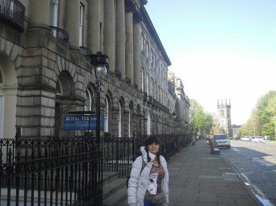 Crowne Plaza Edinburgh - Royal Terrace: VISTA EXTERIOR