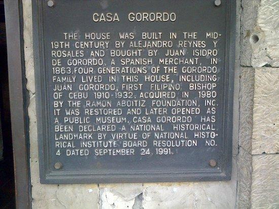 Museo Casa Gorordo: The history