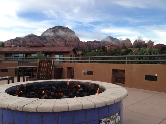 Sedona Rouge Hotel and Spa: View from the observation deck